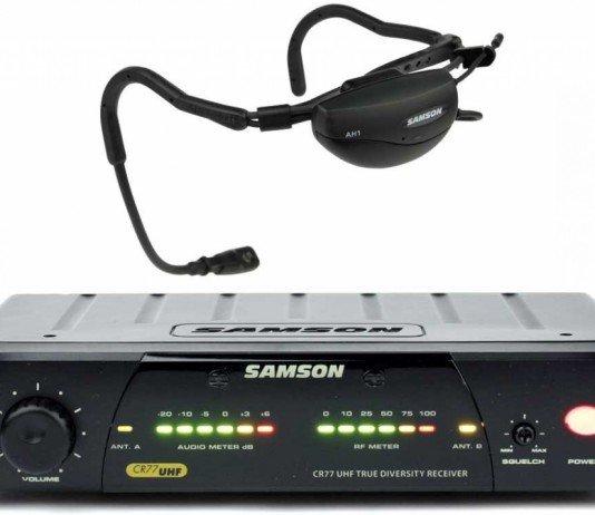 Náhlavní mikrofon Samson
