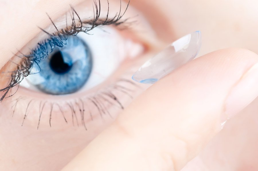Typy kontaktních čoček