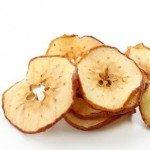 Jablka ze sušičky potravin