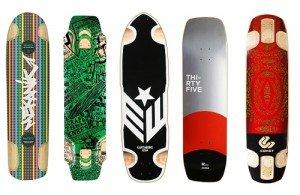 Fotografie různých tvarů slide decks