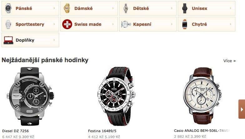 3dccbf363bd Aktuální nabídka stylových hodinek pro muže i ženy
