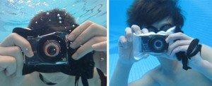 Vodotěsné pouzdro na fotoparát