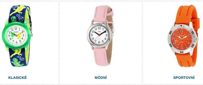 Dětské hodinky pro kluka, holku