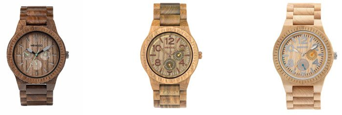 Dřevěné hodinky Wewood