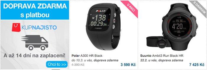 prodej sportovních hodinek