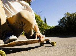 Longboard nebo penny board