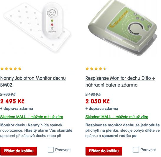 monitor dechu - Prodej