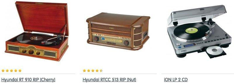 Prodej gramofonů