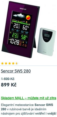 Prodejna meteostanic
