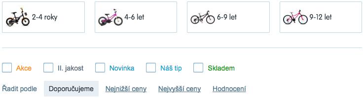 Bicykl pro děti