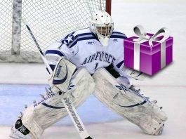 darčeky pre hokejistov