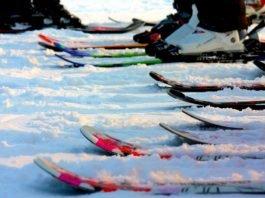 nosič na lyže